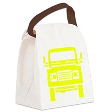 Land Rover illustration Canvas Lunch Bag