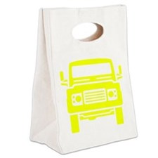 Land Rover illustration Canvas Lunch Tote