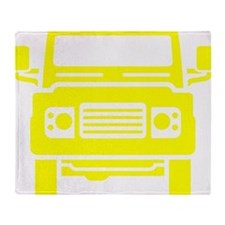 Land Rover illustration Throw Blanket