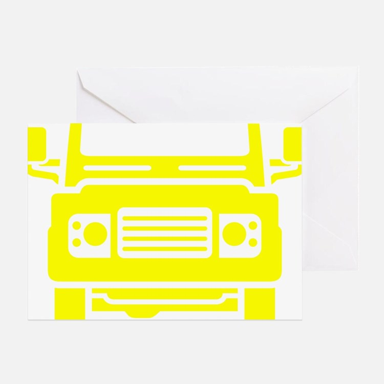 Land Rover illustration Greeting Card