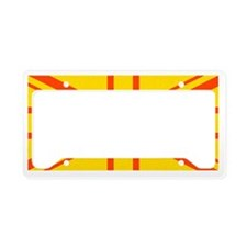 Flag of UK e10 License Plate Holder