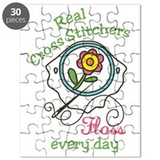 Real Cross Stitchers Puzzle