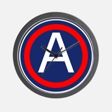 Third Army logo Wall Clock