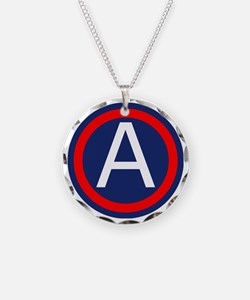 Third Army logo Necklace