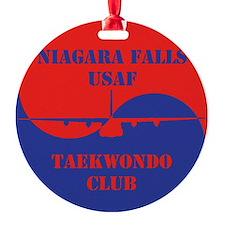 Niagara Falls USAF TKD Club Ornament