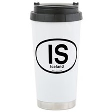 IS - Iceland Oval Travel Mug