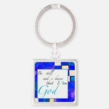 be still Square Keychain