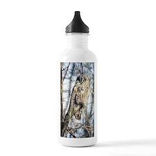 Great Gray Owl Water Bottle