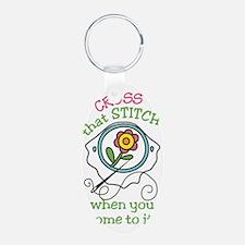 That Stitch Keychains