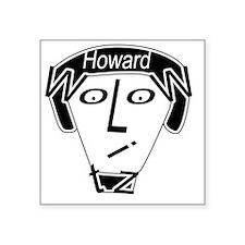 "Hidden Howard Wolowitz Square Sticker 3"" x 3"""