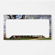 Monticello 12X18 License Plate Holder