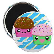 Kawaii cupcakes Magnet