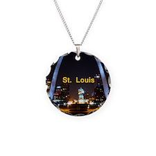 St Louis Gateway Arch Necklace
