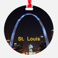 St Louis Gateway Arch Ornament