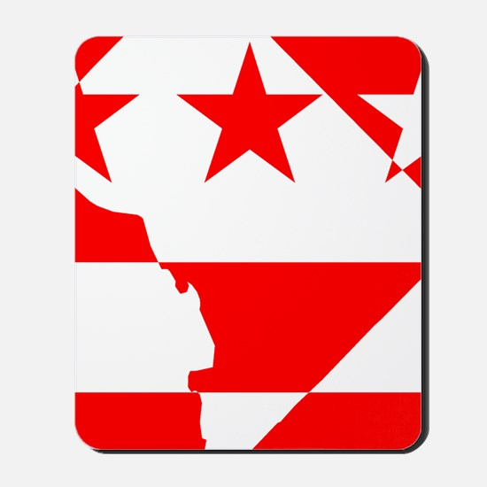 DC Borders Inverted Mousepad