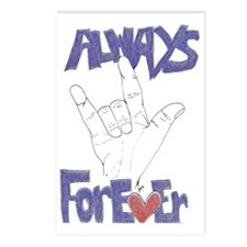 I Love You Always  Foreve Postcards (Package of 8)