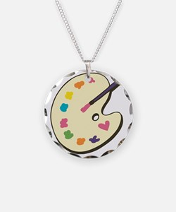 Paint With Love Necklace