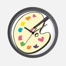 Paint With Love Wall Clock