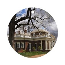 Monticello 12X18 Round Ornament