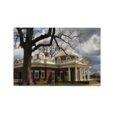 Monticello 12X18 Rectangle Magnet