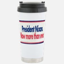 Nixon Reelection Stainless Steel Travel Mug