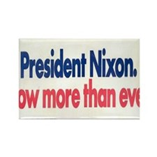 Nixon Reelection Rectangle Magnet