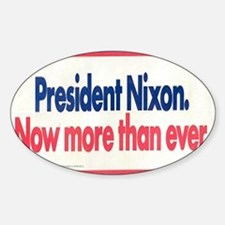 Nixon Reelection Decal