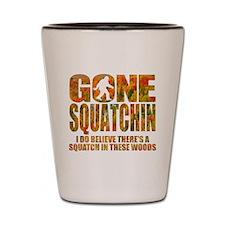 Gone Squatchin *Special Fall Foliage Ed Shot Glass