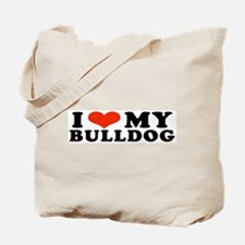 IHeartBulldog.jpg Tote Bag
