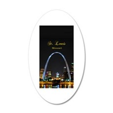 St Louis Gateway Arch Wall Decal