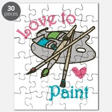Love To Paint Puzzle