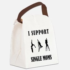 I Support Single Moms Canvas Lunch Bag