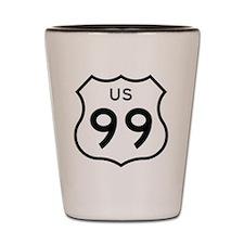US 99 Shot Glass
