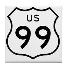 US 99 Tile Coaster