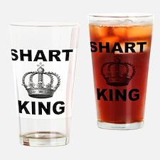 Shart King Drinking Glass