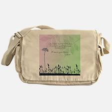 Zen Out Beyond Ideas Messenger Bag