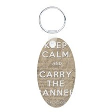 Keep Calm and Carry the Ban Keychains