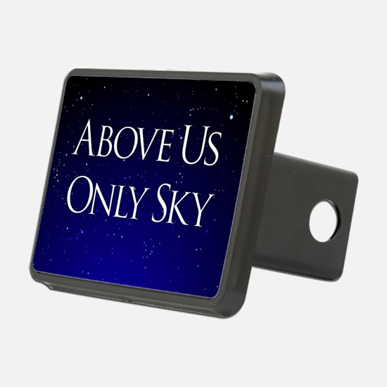 above us only sky Hitch Cover