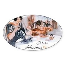 Waffle Iron Ad 1923 Decal