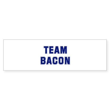 Team BACON Bumper Sticker