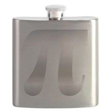 Pi - Metal Flask