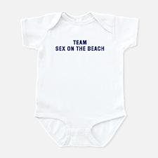 Team SEX ON THE BEACH Infant Bodysuit