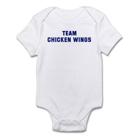 Team CHICKEN WINGS Infant Bodysuit