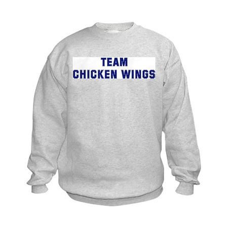 Team CHICKEN WINGS Kids Sweatshirt