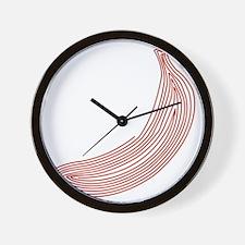 hg-zip_front_banana Wall Clock