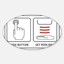 GetPork Sticker (Oval)