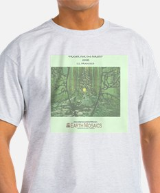 Prayer for the Forests back T-Shirt