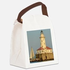 Chicago Harbor Lighthouse  Canvas Lunch Bag