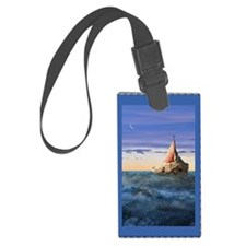 Brendans Boat book Luggage Tag