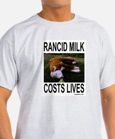 Rancid Milk T-Shirt (grey)